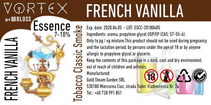 TOBACCO :: FRENCH VANILLA
