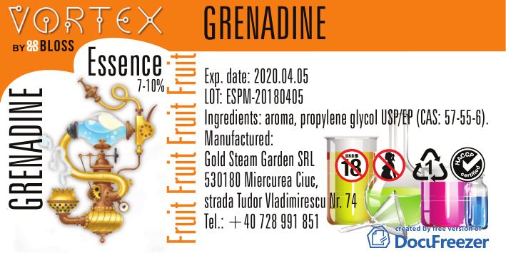 FRUIT :: GRENADIN