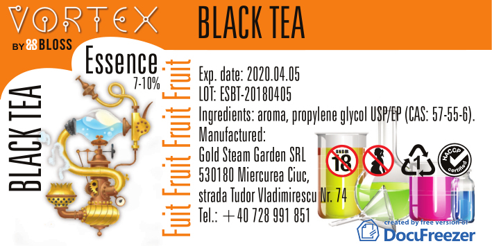 FRUIT :: BLACK TEA
