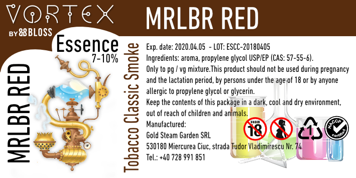 TOBACCO :: MRLBR RED